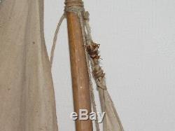 10e30 Ancien Canot De Bassin Vp Vogu'enmer Les Voiliers Presquîle De Guerande