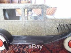 1930 JOUET ANCIEN VOITURE DELAGE DELAHAYE GRAND LUXE CHARLES ROSSIGNOL CR 38 cm