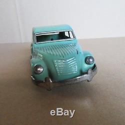 224 Rare Endoh Japon Citroën 2cv L 13 cm Jouet Tôle