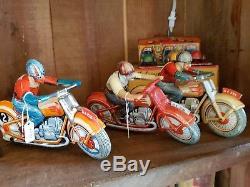 7 moto's scooters en tole marque technofix