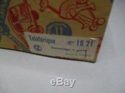 AJ804 CIJ TELEPHERIQUE Réf 18/21 BON ETAT