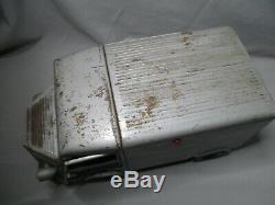 AN372 CHR JRD CITROEN TYPE H HY TOLE GRIS 34 cm A RESTAURER