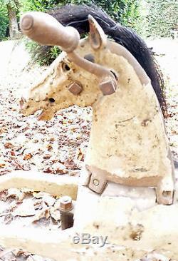 ANCIEN CHEVAL TRICYCLE XIX èm POUPEE ANCIENNE