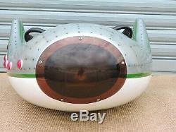 ANCIEN SUJET MANÈGE Avions LUZT Vintage soucoupe volante Art Forain