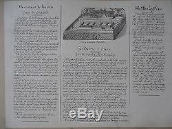 Af643 Jeu Ancien Course A Anes Saussine Debut 1900 Serre Bel Etat
