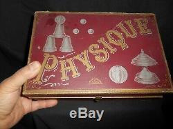 Ancien Jeu Boite De Magie Prestidigitation Notice Explicative Physique Amusante