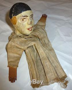 Ancien Petit Théâtre Guignol Castelet (1910-1920) et ses Marionnettes