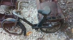 Ancien VÉLO SOLEX petit F4 enfant, jouet, voiture à pédales, moto, cyclo, no émaillé