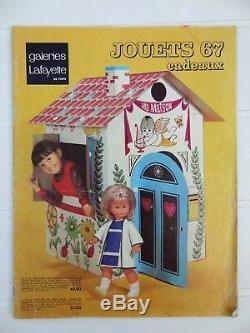 Ancien catalogue jouet Galerie Lafayette Paris 1967 ORTF Nicolas Manège enchanté