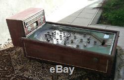 Ancien flipper Casino en bois