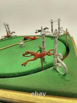 Ancien jeu course à 6 chevaux, fonctionne, bistrot défit tiercé
