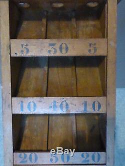 Ancien jeu d'adresse du tonneau de la grenouille 1900 art populaire café bistrot