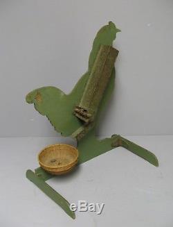 Ancien jeu de la Poule Eurêka. Jouet Ancien Vers 1900. Chicken