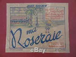 Ancien jeu kiosque fleuriste Ma Roseraie Paris Petitcollin Lépine No Saussine