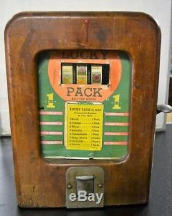 Ancien jeux de comptoir Lucky Pack années 30