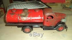 Ancien jouet! Camion citerne vébé! A voir
