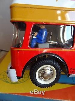 Ancien jouet Camion transport EXPRESS EUROPE JOUSTRA Boîte état neuf 1965 No CIJ