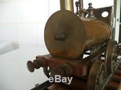 Ancien jouet! Locomotive a vapeur vive basset lowke