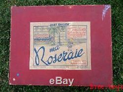 Ancien jouet Ma ROSERAIE La petite Fleuriste 1949 concours lépine petitcollin