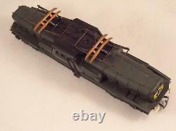 Ancien jouet Train HO locomotive électrique JOUEF 12v BB 13001 Réf. 8421 + boîte