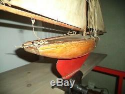 Ancien jouet! Voilier de bassin RARE ED! A voir