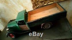 Ancien jouet citroen camion