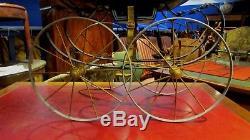 Ancien landau poussette poupee pour poupee ancienne epoque 1900 jouet