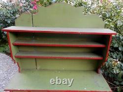 Ancien meuble type épicerie/ magasin /apothicaire poupée état grenier circa 1900