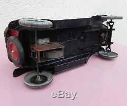Ancienne Automobile Mecanique Andre Citroen Voiture Jouet
