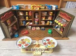 Ancienne Epicerie Enfants Poupee Jouet Ancien Puppenkaufladen Année 50