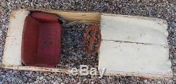 Ancienne Voiture A Pedale En Tole Renault Dauphine Jeux Enfants