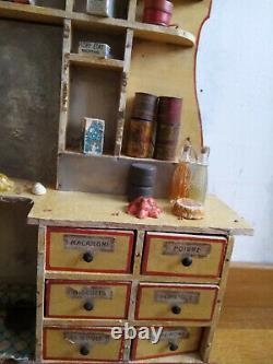 Ancienne épicerie pour poupée Jumeau antique jouet