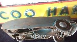Ancienne voiture à pédales enfant MG CITROEN DS 1966, jouet, moto, cyclo, no émaillé