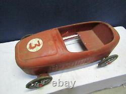 Ancienne voiture a pedales ferrari baby