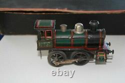 Antique rare Issmayer tin train set germany No bing marklin jep
