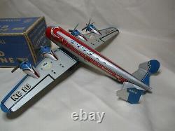 Ap024 Marx Toys Quadrimoteur Sky Cruiser Stratoliner Friction Ref 856 En Boite
