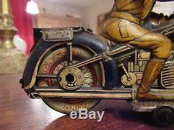 Arnold, Belle Moto Ancienne En Tole A643