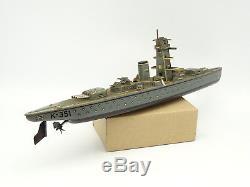 Arnold Tôle Navire Cuirassé mécanique K-351 lithographié