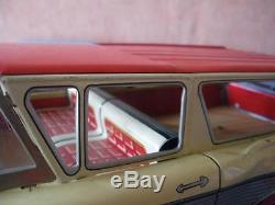 Asahi Atc Tin Toy Japan Ford Fairlane 1959 Ranch Wagon Tole Friction 35 CM 333 J