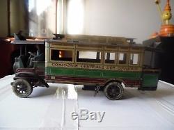 Autobus Parisien Cr Charles Rossignol 1911