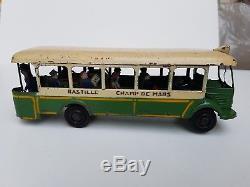 Autobus Parisien Renault Tn4h Ratp Cij Jouet Ancien Joustra Tole