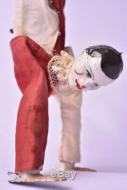 Automate ancien. Clown antipodiste par Fernand Martin. Circa 1902. Bel état