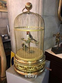 Automate cage à 2 oiseaux Maison Bontems