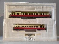 Autorail unifié X2800 avec remorque ROCO CSFN O-HO-HOe-N boîte d'origine 43009