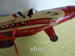 Avion Air France Alba Croix Du Sud Jouet Ancien Tôle Bon Etat General