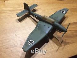 Avion en tôle Allemand Ju 87 Stuka DUX (comme JEP)
