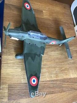 Avion en tôle Stuka JEP sur base DUX Plane