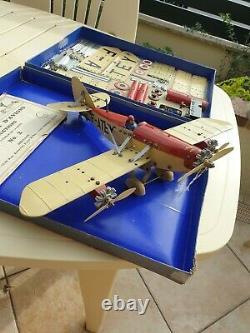 Avion meccano constructeur coffret n° 2