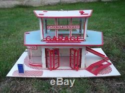 Beau Garage Station Service Mioux 1960 Bel Etat D'origine No Depreux