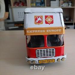 Berliet Gak Gbk Camion Joustra Tole Express Europe Jouet Transport Ref 606/693